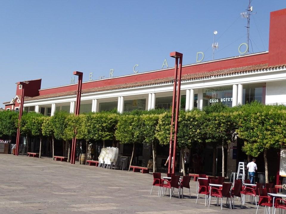 edificio exterior Mercado Central Alcazar de San Juan Ciudad Real