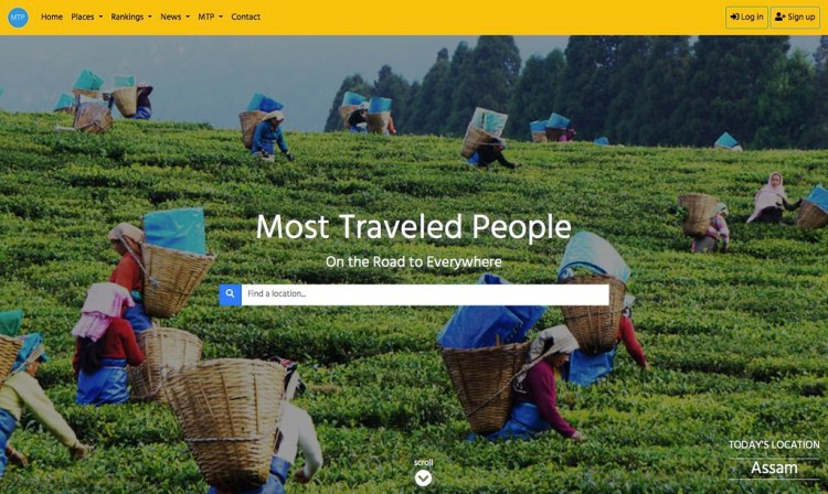 The New Most Traveled People: MTP.travel