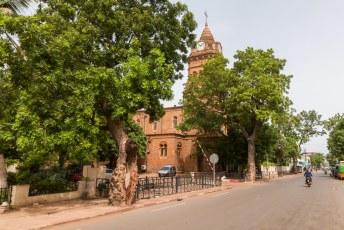 De enige kerk in de stad (en het land waarschijnlijk).