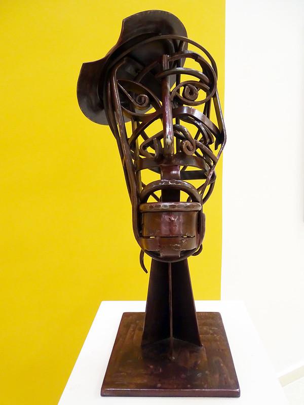 Don Quijote escultura en hierro de Eloy Teno Sala Albero Museo Eloy Teno Campo de Criptana Ciudad Real 04