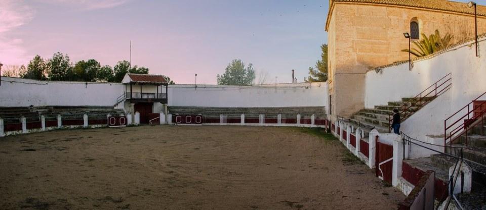 Plaza de toros interior Bolaños de Calatrava Ciudad Real 01