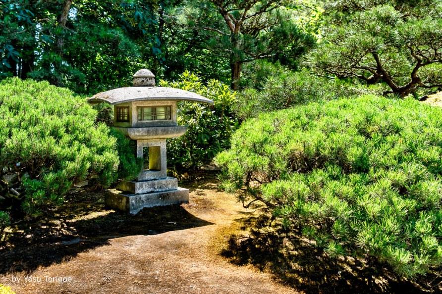 Tōrō Decorates Portland Japanese Garden, Portland OR USA-21a