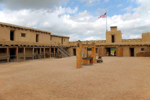 Bent's Old Fort National Historic Site, near La Junta, Colorado, September 5, 2018