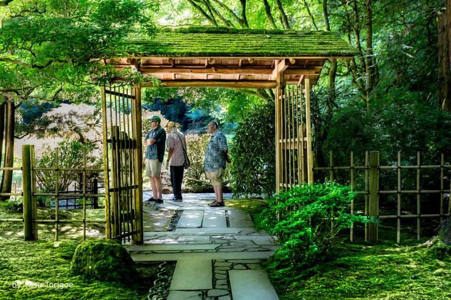 Portland Japanese Garden, Portland OR USA-38a
