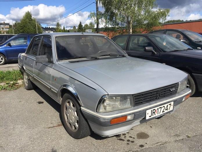1983 Peugeot 505 V6 2 8 L Andreas Flickr