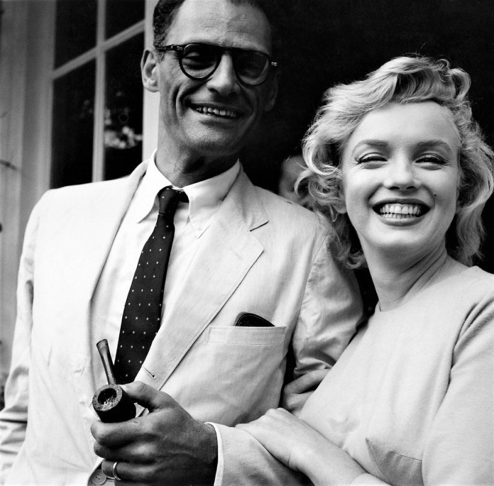 Resultado de imagen para Fotos de Marilyn Monroe, con Arthur Miller.