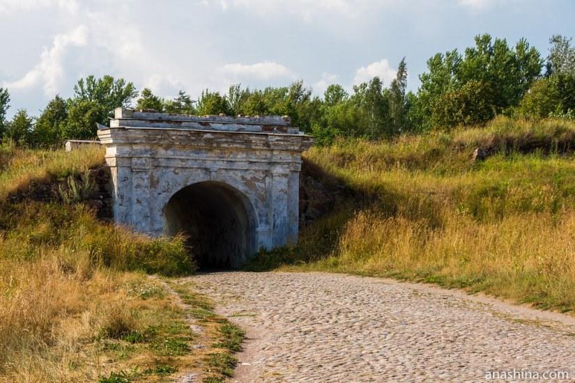 Внешние Фридрихсгамские (Равелинные) ворота, Анненские укрепления, Выборг