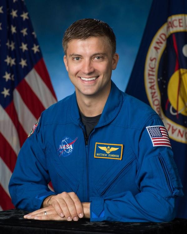 2017 NASA Astronaut Candidate Matthew Dominick ...