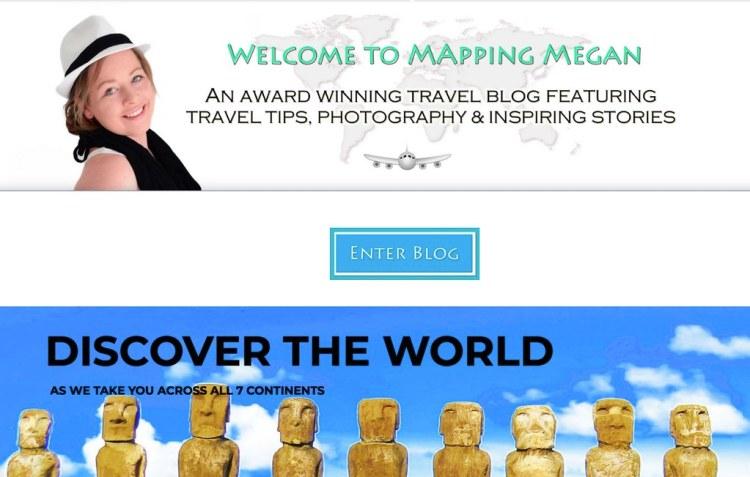 #travel #blog Mapping Megan