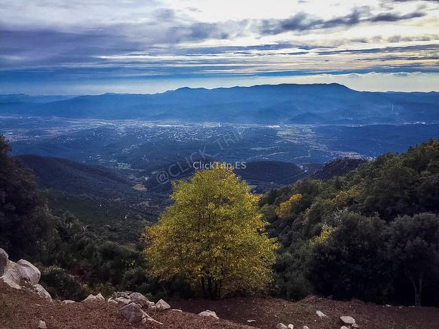 Vistas desde el Montseny