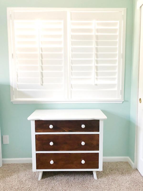Nursery dresser AFTER