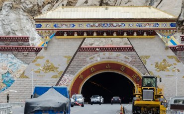 Chinese-Made Tunnel