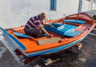 A Man and His Boat