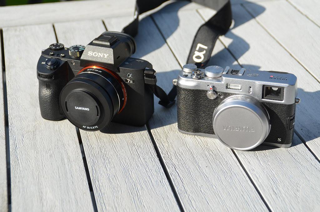 Sony A7 III versus Fujifilm X100S