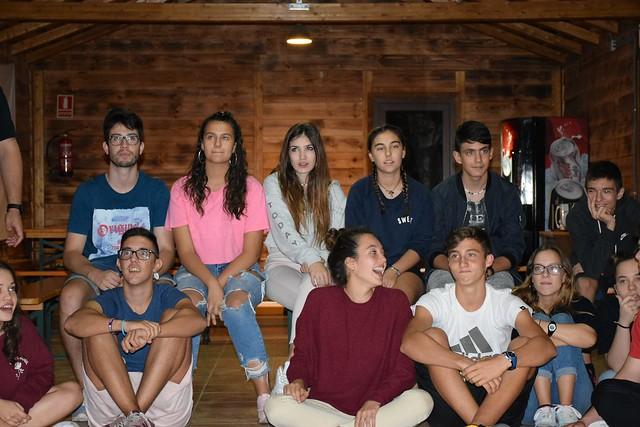 Convivencia Jóvenes inicio curso