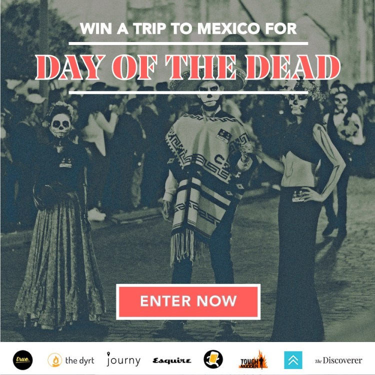 Win A Day Of The Dead Trip To Mexico!