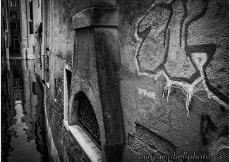 Graffiti along a Back Canal