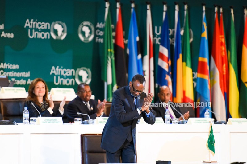 D African Heads of State sign the African Free Trade Area (36)
