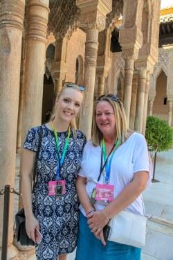 The Elite Conference for Independents, 28 Sept - 1 October 2018, Granada. Jordan Harper, Elite Travel Group, Sarah Clewlow, Regent Travel