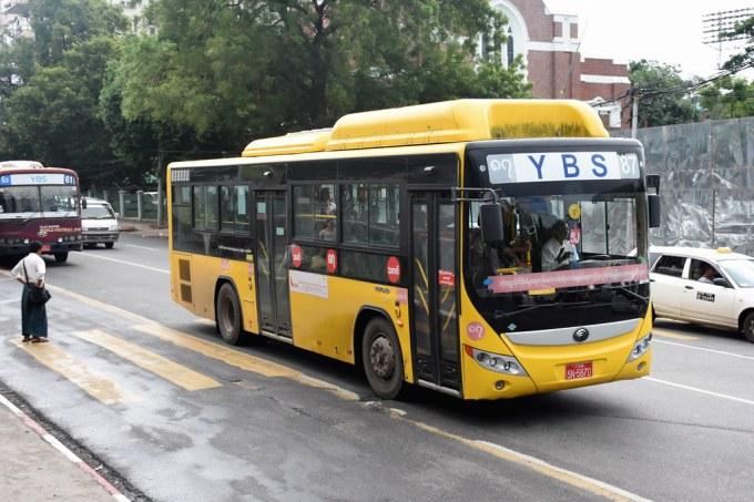 Yangon Bus Service YGN 5N-5870 | 29/09/18. Alan Pya Pagoda S… | Flickr
