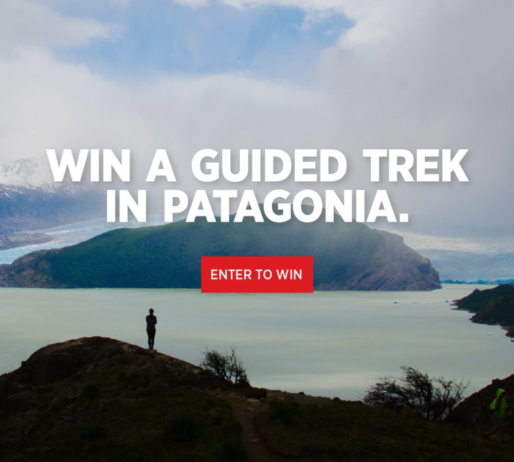Win A Guided Trek In Patagonia!