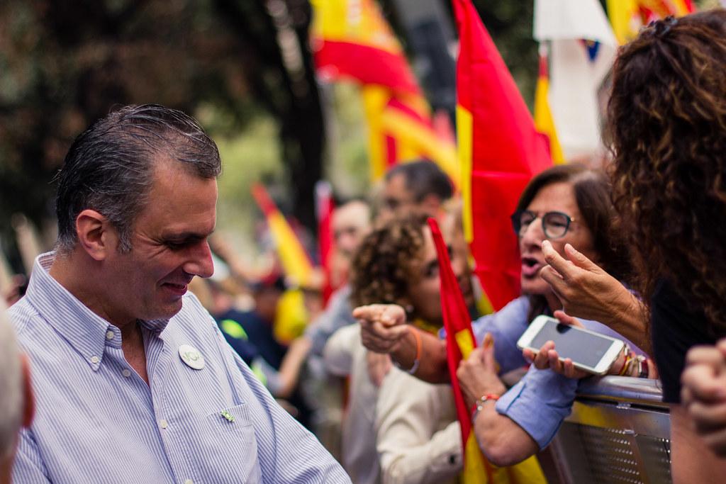 VOX encabeza la manifestiación del Día de la Hispanidad en… | Flickr