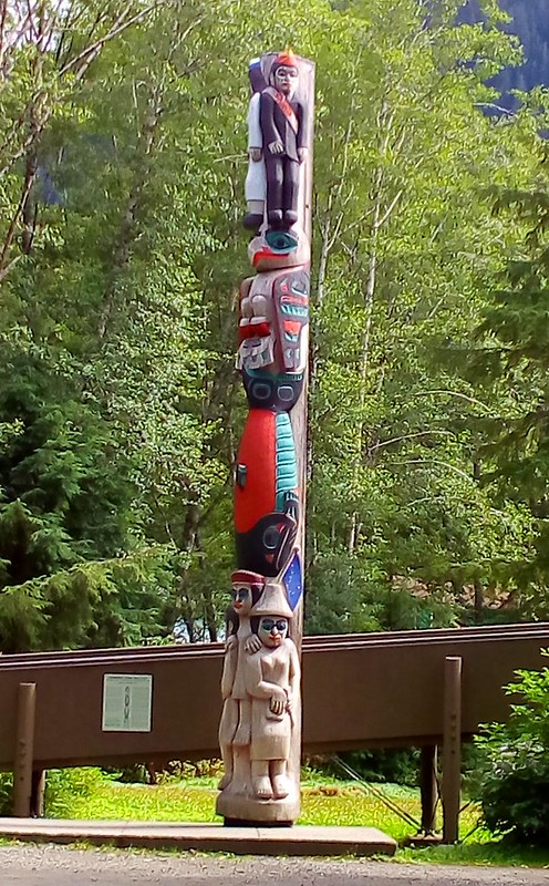 """""""Honoring those who give"""" Commemorating the founding of the Totem Heritage Center, 1976 by bryandkeith on flickr"""