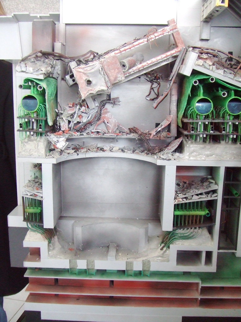 Chernobyl Model This Is The Front Of The Reactor It S