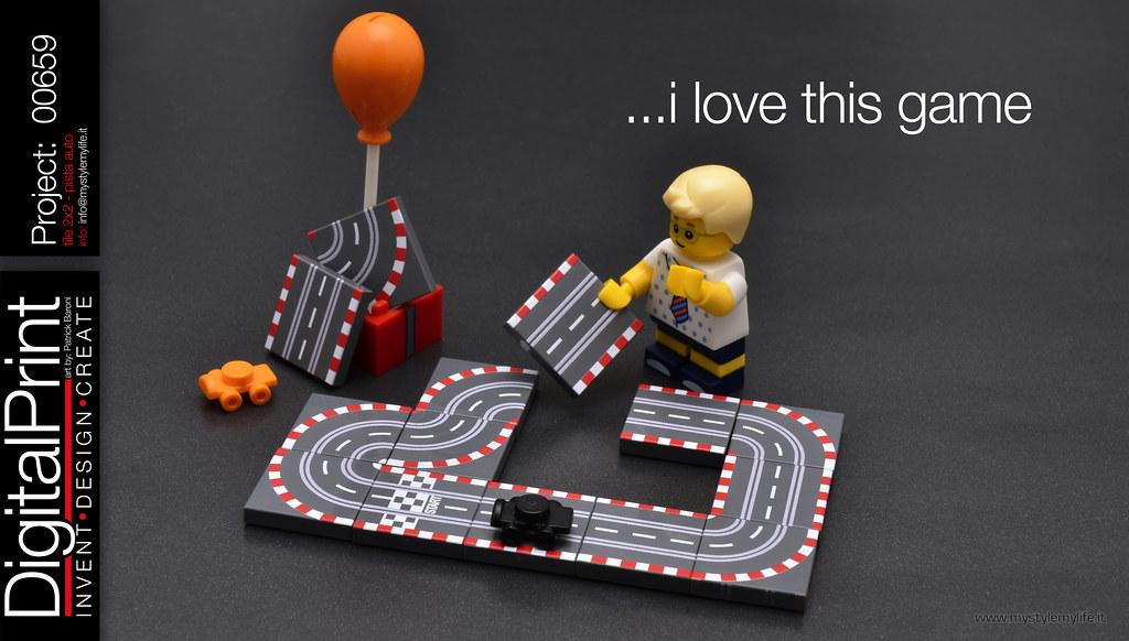 project 659 - tile 2x2 pista auto