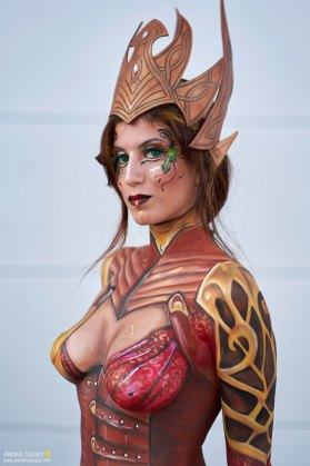 Romics2018_autunno_bodypaint_22
