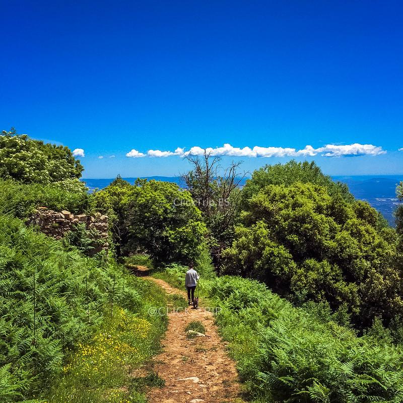 Paisajes de la ruta por el Montseny