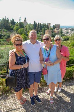 The Elite Conference for Independents, 28 Sept - 1 October 2018, Granada. Carla Cole, Villair TravelJohn Escott, Elite Travel Group, Clair Kirby, Loraine Wheatley, both Journey The World