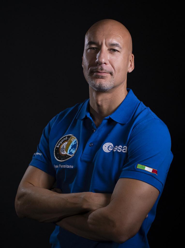 Luca Parmitano Official Portrait Of Esa Astronaut Luca