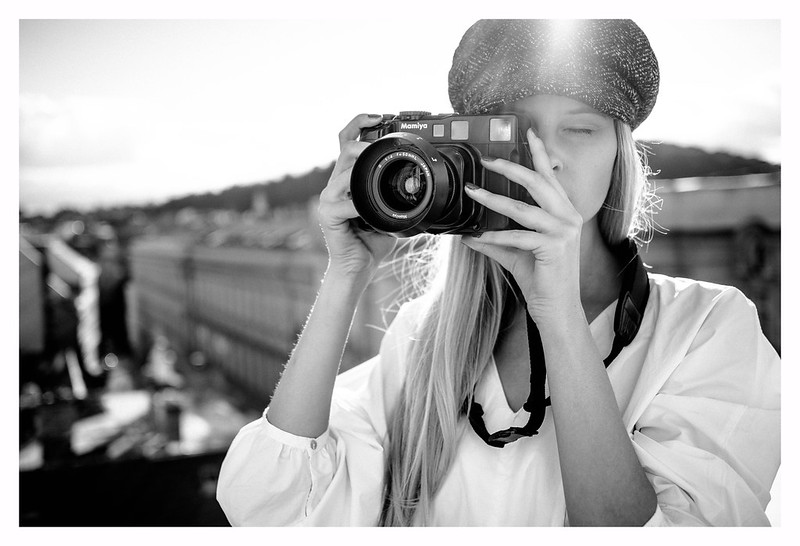 Leica CL & Mamiya 6 :)