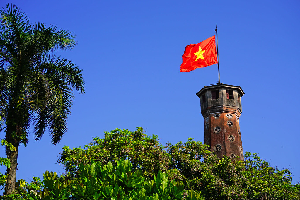Flag Tower of Hanoi, Vietnam