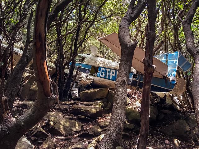 Avioneta estrellada del Montseny (Avioneta estevellada)_ClickTrip