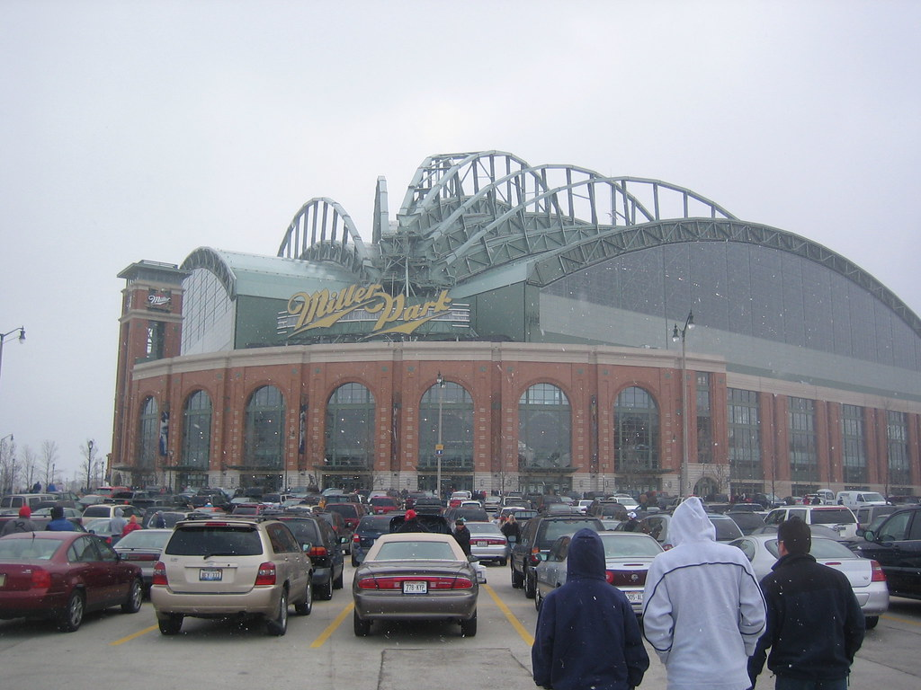 Miller Park in the Snow