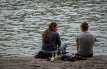 Relaxing on the Quay 1