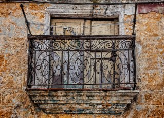 Balcony with Clotheslines