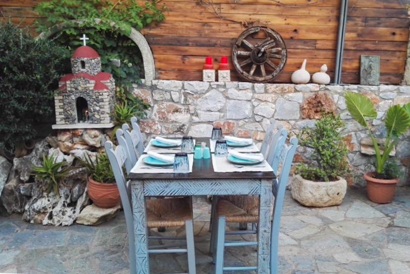 Hanian parhaat ravintolat - Rustic Garden