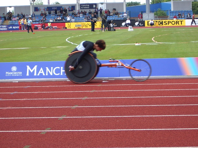 Dame Tanni Grey-Thompson in Manchester 2005