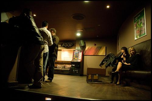 Upstairs, Bar Risa