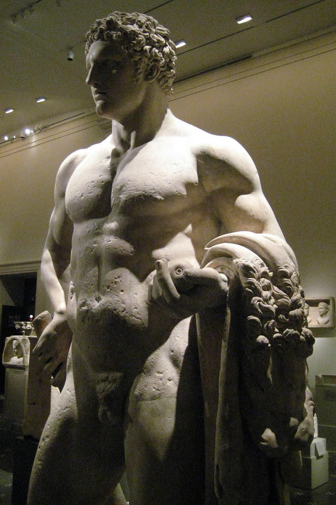 Nyc Metropolitan Museum Of Art Youthful Hercules Flickr
