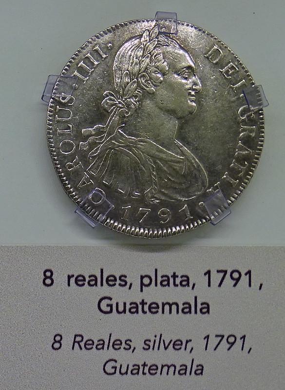 1791 Monedas Siglo XVIII Museo Numismática Banco Central San José de Costa Rica 13
