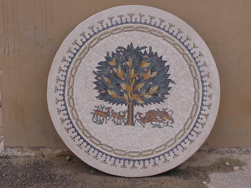 Jordania Madaba Escuela de Mosaicos 02