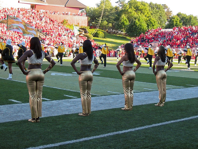 Norfolk State Cheerleaders