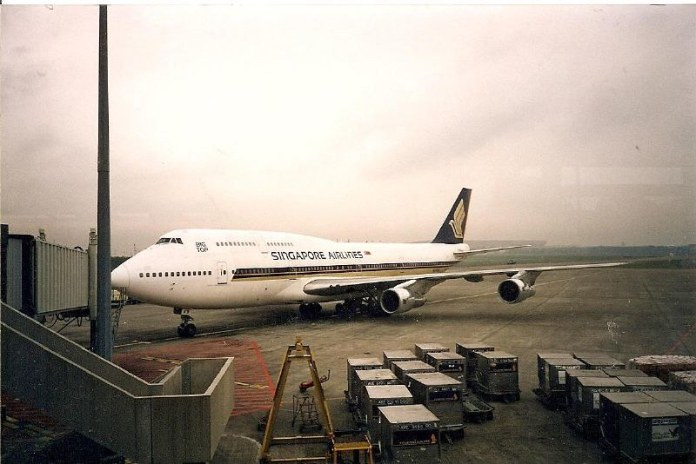 Singapore Airlines Boeing 747 Location Jakarta Indonesia Flickr