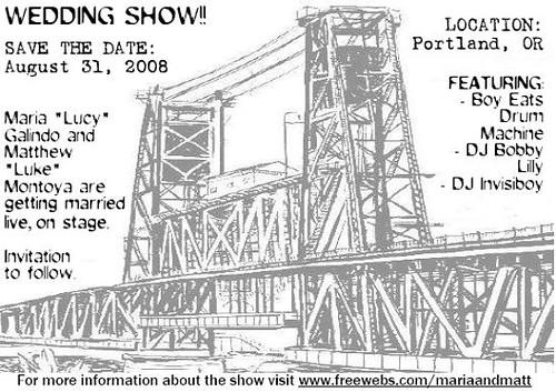 wedding show flyer