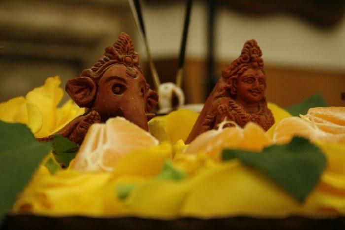 Ganesh & Lakshmi | Terra cotta statues, detail taken at ISAL… | Flickr