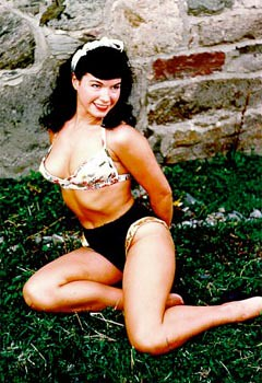 bettie page color # 12